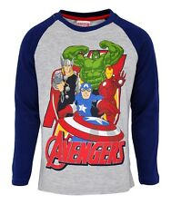 MARVEL AVENGERS: LONG SLEEVE TOP,3/4,4/5,5/6,6/7,7/8YRS,NEW WITH TAGS