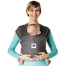 Baby Ktan Baby K'tan Breeze Baby Carrier, Charcoal, Small