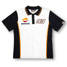 New Official Marc Marquez 93 Repsol Honda Polo Shirt - REMPO 148403 or 16 18501