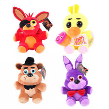FNAF Five Nights at Freddy's Golden Freddy Chica Bonnie Foxy Plush Doll  Toy 1pc