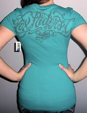 New Sexy FOX RACING RIDERS CO T Shirt Top GRAPHIC LOGO S or M