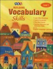 Building Vocabulary Skills A(c) - Student Edition - Level 1