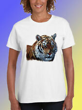 NEW WILDLIFE ANIMAL TSHIRT - Tiger Head