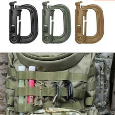 EDC Keychain Carabiner Molle Tactical Backpack Shackle Snap D-Ring Clip HP