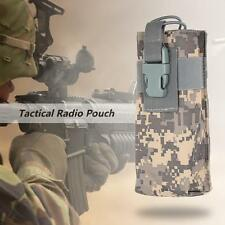 New Airsoft Tactical Military Molle Radio Belt Pouch Bag Case Holder DC U3Z7