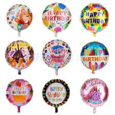 Happy Birthday Foil Balloons Mylar Balloons Helium Aluminum Balloons Party Decor