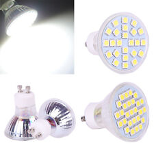 24/27 SMD Spot Light 110V/220V 6W 7W Lamp Bulb GU10 5050 LED Warm/Cool White