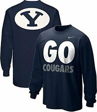 Nike BYU Brigham Young University Go Cougars Local 2-Sided Long Sleeve T-Shirt