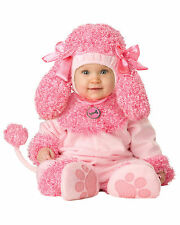 Precious Poodle Pink Dog Animal 1950s Toddler Baby Girls Infant Costume