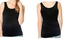 MOTHERHOOD (OH BABY) MATERNITY RUCHED SEAMLESS TANK SIZE SM/MED NEW WITH TAGS