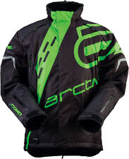 Arctiva Comp S6 Mens Insulated Snowmobile Jacket Black/Green