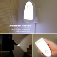 Multi Function PIR Sensor LED Night Light Wall Lamp Emergency Torch Rechargeable