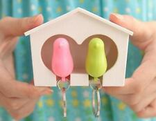 Gadget Key Ring 1 Pcs Holder Wall Birdhouse Hook Home Hot Lover Keychain Sparrow