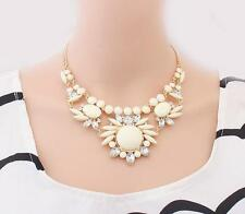 Bib Mixed Necklace Bubble Womens Jewelry​ Statement 1 Pcs New Crystal Choker