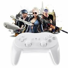 Wired Game Controller Remote Pro Gamepad Shock For Nintendo Wii JK