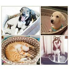Hot Dot Soft Plush Pet Dog Puppy Cat  Kitten Warm Bed House Cozy Nest Mat Pad