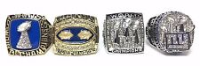 NEW YORK GIANTS SUPER BOWL XXI XXV XLII XLVI RING SET 1986 90 2007 2011 SZ  9-13