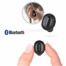 Super Mini Stealth Stereo Bluetooth Headset Long Talking Earphone For Smartphone