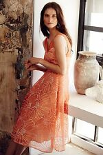NWT Anthropologie Calendula Dress by Moulinette Soeurs, 2, 4, Organza Floral