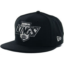 New Era 59Fifty Los Angeles LA Kings Fitted Hat (Black) Men's NHL Vintage Cap