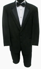 Mens Black Perry Ellis 2 Button Tuxedo Jacket w/ Pants Discount Prom Tux Outfit