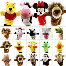 Animal Cartoon Hand Glove Puppet Soft Plush Puppets Kids Toys Role Pretend Play