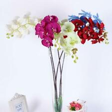 Artificial Butterfly Orchid Silk Flowers Home Wedding Decor Phalaenopsis Bouquet