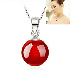 Natural Pendant Necklace NEW Jewelry Silvered Men's Fashion Women's Agate 2016