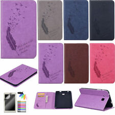 Card Holder Wallet Case for Samsung Galaxy iPad PU Leather Cute Patterns Cover