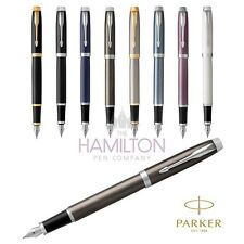 PARKER IM FOUNTAIN PEN - 2017 range now available in a wide choice of colours