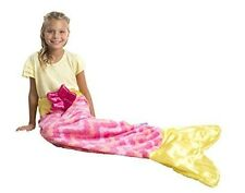 Allstar HI Snuggie Tails Mermaid Blanket For Kids (Pink)