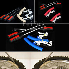 3PCS Spoon Motorcycle Tire Iron Irons Changing Change  Rim Protector Tool Combo