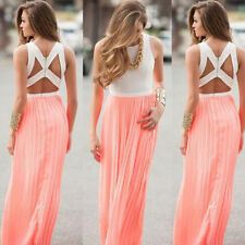 Sexy Evening Party Boho Summer Women Dress New Beach Maxi Sundress Long Cocktail