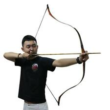 "New Traditional Handmade Archery Recurve Bow 50"" Longbow Horsebow Hunting Target"