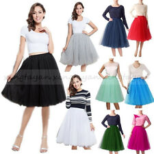 10 Style Petticoat 5 Layers Tulle Crinoline Underskirt Skirt Slips Fancy Dress