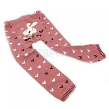 Toddler Kids Girl Love Heart Trousers Pantyhose Stocking Tights Full Foot Socks