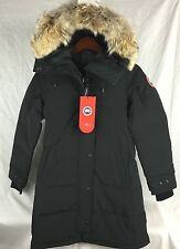 NEW Canada Goose Shelburne Parka Black Women Down XS S M L XL AUTHENTIC HOLOGRAM