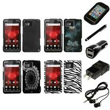 For Motorola Droid Bionic XT875 Design Snap-On Hard Case Phone Cover Headphones