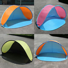 Portable Pop-up Tent Anti-UV Sun Protective Camping Beach Fishing Tent DK