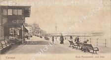 Norfolk Cromer looking at the East Promenade and Pier Old Photo Print