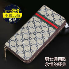 New Lady Women Genuine Leather Clutch Wallet Long Card Holder Case Purse Handbag