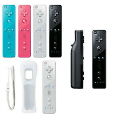 Built in Motion Plus Remote +Nunchuck Controller+ Case for Nintendo Wii / Wii U