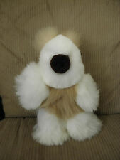 Brand New Soft Baby Alpaca Teddy Bear Handmade In Peru 14 inches Tall #123045