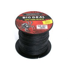 Black 100M Super Strong Dyneema Spectra Braid Special Design Sea Fishing Line