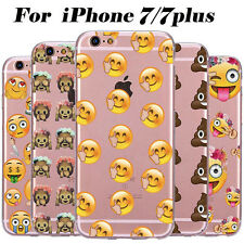 Cute Emoji Phone Case Protect Cover Shell For iphone 6s/6s Plus 7/7 Plus Fashion