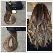 Straight Ombre Pre Bonded Fusion Nail U Tip Remy European Human Hair Extensions