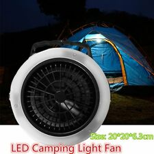 Multifunctional Casual Outdoor Camping Hiking Light Lantern LED Tent Light Fan X
