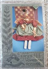 NIP Katies Homespun Stitches Folk Art Sweet Annie Angel Doll Pattern