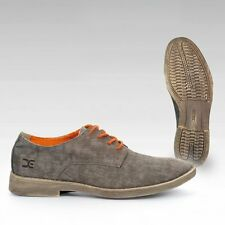 Hey Dude Shoes Volterra Canvas Brown Derby Shoes