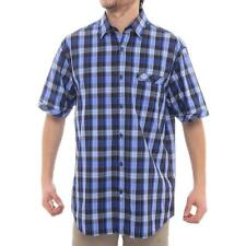 James Campbell Short Sleeve Collared Button Down Men Regular Casual